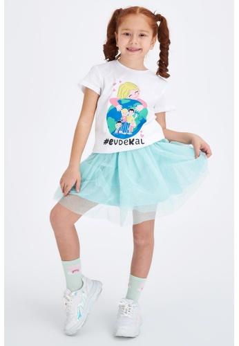 DeFacto green Girl Knitted Skirt 2E1D7KA55C455DGS_1
