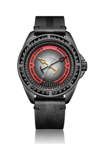Assassin's Time black Assassin's Time TRIPLE Black leather 83656AC1F188DCGS_1