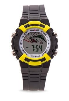 Unisex Rubber Strap Watch MXPO-628S-C