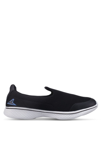 Power black Slip On Walking Shoes 6FCE3SHF02BF84GS_1