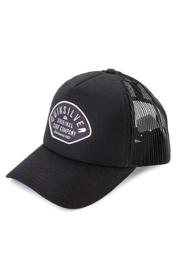 Quiksilver black and multi Papa Duece Curve Cap C1ADBAC893C419GS 1 7125b0c433ee