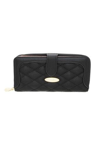 British Polo black British Polo Bubble Flap Wallet A1393AC91D6114GS_1