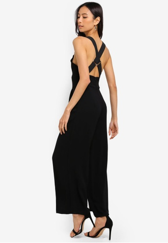 1a76050fb79 Buy TOPSHOP Cross Back Jumpsuit Online on ZALORA Singapore