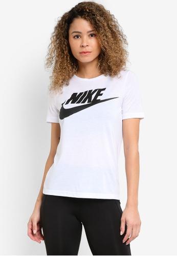 Nike white Women's Nike Sportswear Essential T-Shirt NI126AA21YJYMY_1