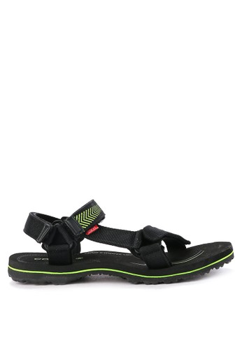 CARVIL black and multi Sandal Gunung Men Eden Gm 76681SHEB43CF9GS_1