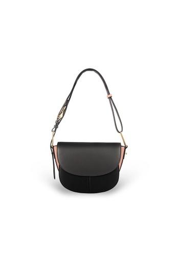 Samuel Ashley black Azura Saddle Bag - Black A5241ACC636E38GS_1
