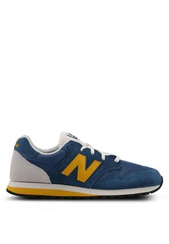 New Balance blue 520 70s Running Lifestyle Sneakers NE323SH0SVDAMY_1