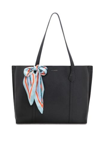 VINCCI black Tote Bag 79914ACA1C9BA4GS_1