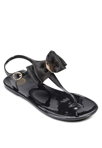Iserni尖沙咀 esprit outleta 蝴蝶結夾趾涼鞋, 女鞋, 涼鞋