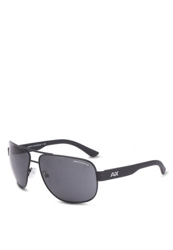 Armani Exchange black A/X OU AX2012S Sunglasses AR162GL0S5DOMY_1