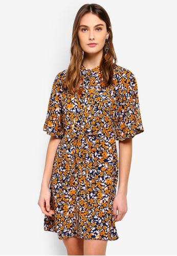 Vero Moda multi Billia 2/4 Short Shirt Dress 4394DAAFCF994AGS_1