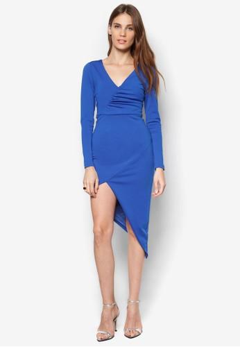 抓褶裹飾洋裝, 服飾, esprit investor relations洋裝