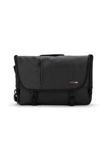 Peeps black Movement Messenger Bag 85DE5AC503D678GS_1