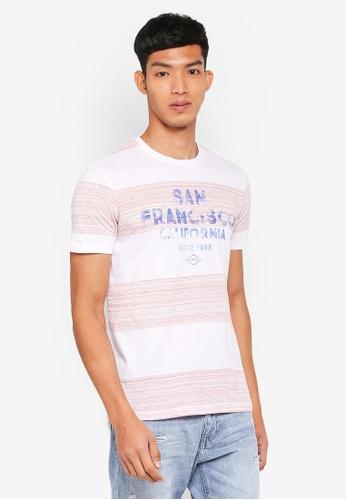 ESPRIT red San Francisco Short Sleeve T-Shirt A4559AA66878E3GS_1
