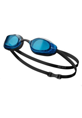 Nike black and blue Nike Vapor Performance Goggle F5057AC2321B52GS_1