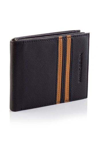 ENZODESIGN black 18 cards Top Grain Cow Nappa Wallet EN357AC0GR1TSG_1