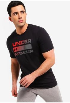 5743a099ca45b Under Armour black UA Team Issue Wordmark Short Sleeve Tee  168C1AA865B7EDGS 1