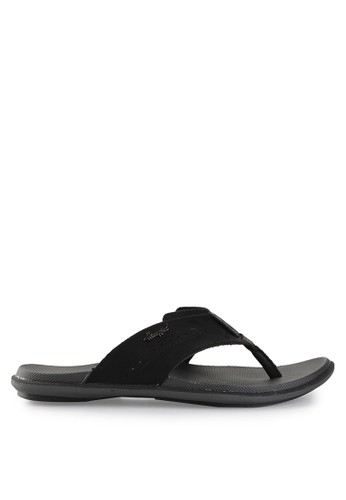 Homyped black Davidson 03 Men Sandals HO842SH22PWNID_1