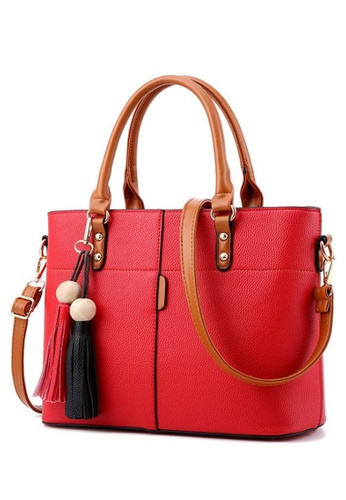 TCWK red Ladies Shoulder Bag TC258AC90WSBMY_1