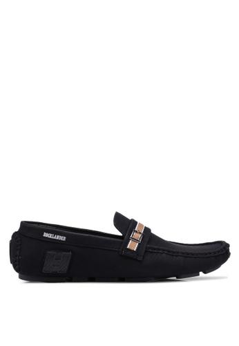 Rocklander black Buckle Loafers 9C790SH6966043GS_1