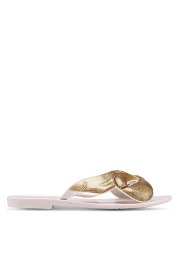 Melissa multi Melissa Harmonic Maxi Bow Ad Sandals 36362SH3E7B428GS_1