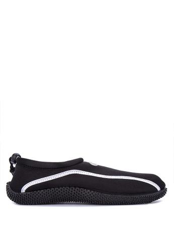 Reva black Magnus Sandals & Flip Flops AAF4FSH442A898GS_1