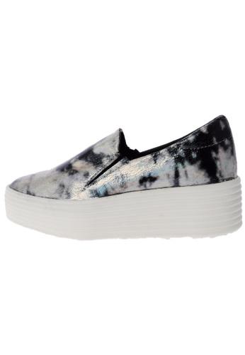 Maxstar 568 Synthetic Leather White Platform Slip on Sneakers US Women Size MA168SH37DJMHK_1