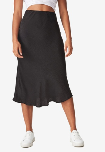 2ab652d3cd Buy Cotton On Woven Belle Bias Midi Skirt Online on ZALORA Singapore