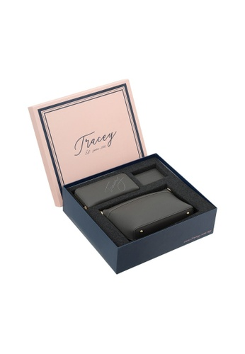 Tracey grey Tracey Classic Belle Sling Bag, Wallet, Card Holder Gift Box Set 94156AC42F78B3GS_1