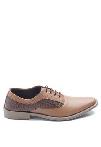 Dr. Kevin brown Dr. Kevin Men Dress & Bussiness Formal Shoes 13310 - Camel DR982SH0UN5HID_1
