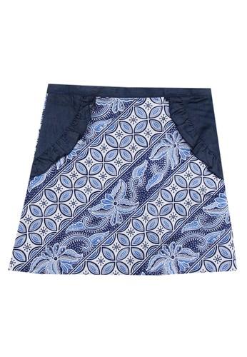 Bateeq blue Regular Skirt 98EC5KAD9E7431GS_1