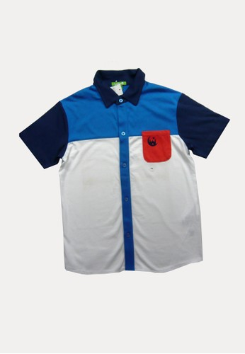 Bossini blue Bossini Kids Boy Shirt Mild Blue (63500104046) 1EAF1KA7121287GS_1