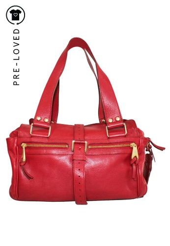 MULBERRY red Pre-Loved mulberry Red Handbag 19902ACB84E82EGS_1