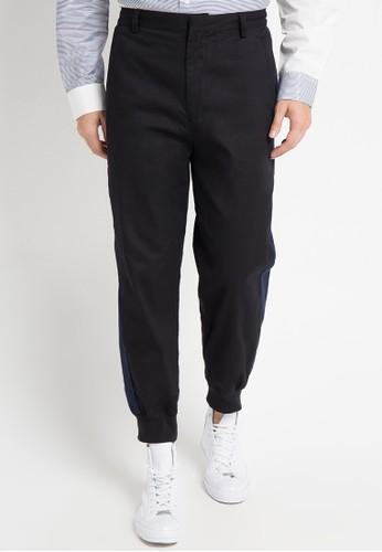 (X) S.M.L black Zeligh Pants XS330AA0WE9TID_1