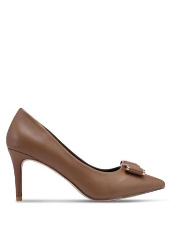 Bata 褐色 尖頭高跟鞋 0E758SHCC090FCGS_1