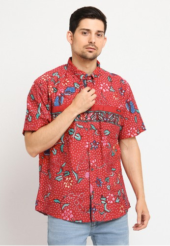 Poshboy red Poshboy Batik cakra buana 332C8AA9D1A735GS_1
