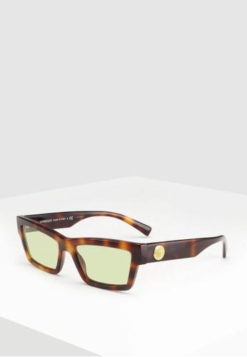 35e7e8ee50e Versace brown Versace VE4362 Sunglasses 95730GLC29155BGS 1