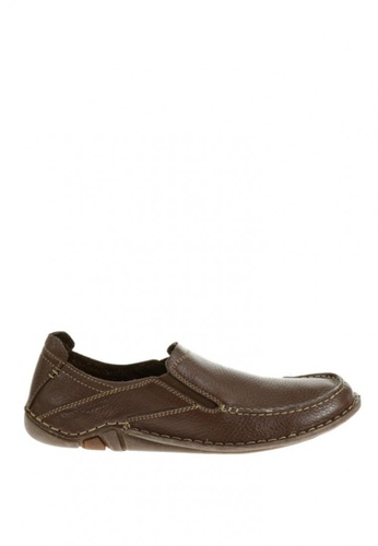 Hush Puppies brown Keenan Roller Casual Shoes HU326SH0JZ4BPH_1