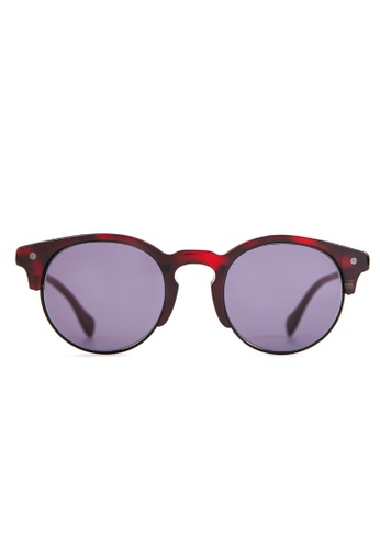 Marshall Eyewear grey and red Henry Red Leo MA266AC84OVVSG_1