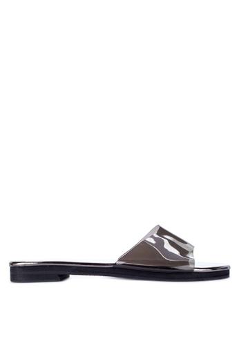 cb6634409b34 Shop Janylin Pvc Slip On Sandals Flats Online on ZALORA Philippines