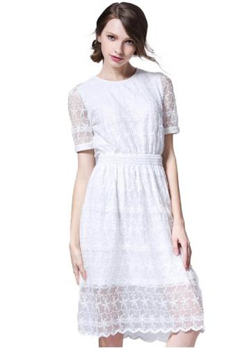 Sunnydaysweety white Sweet Lace Dress UA042372 3D904AA198C7EFGS_1