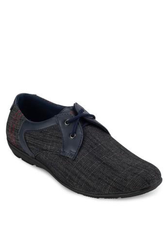 雙眼繫帶正式感休閒鞋, 鞋,zalora時尚購物網的koumi koumi 休閒皮鞋