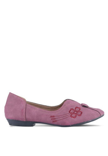 Louis Cuppers purple Louis Cuppers Flats LO977SH0S9T0MY_1
