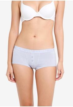 831b09d3a17da Calvin Klein blue Boyshort Panties - Calvin Klein Underwear  9EDA3USD473C85GS 1
