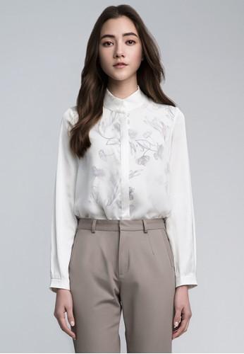 復古esprit台北門市印花襯衫, 服飾, 襯衫