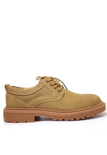 Twenty Eight Shoes 粗糙猄皮皮鞋 MC3318 5E711SH1A36092GS_1