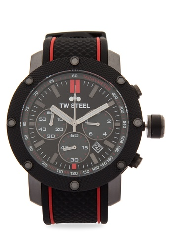 TW Steel black TS6 Grandeur Tech Analog Watch TW310AC0KM8GPH_1