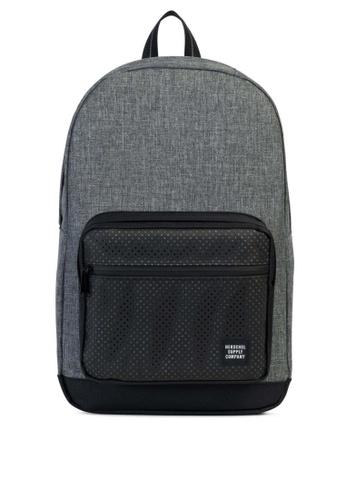Herschel grey Pop Quiz Aspect Backpack HE958AC0KA30PH_1