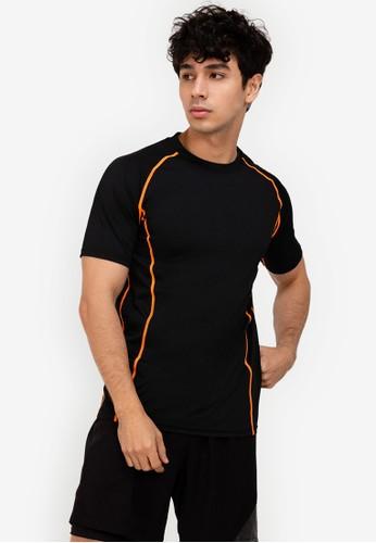 ZALORA ACTIVE multi Contrast Stitch T-Shirt EFB67AA5528387GS_1