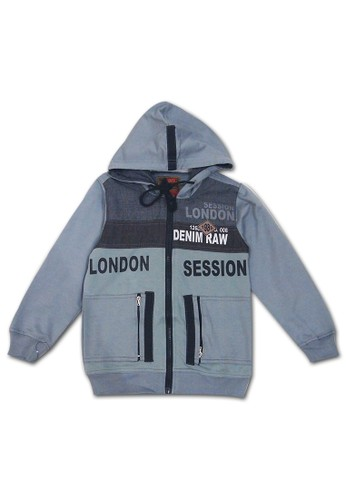 Woffi grey London Session Jaket Woffi BE3A1KA18E02BFGS_1